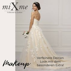 Ich mache mir mein Kleid, so wie es mir gefällt! Mit der MixMe Kollektion von LeMoos bei www.weddingparadise.at 365 Tage, jeden Tag ein anderes Brautkleid!  #weddingparadise #wedding #individual #createyourdress #bride #lemoos #instabraut #braut #brautkleid #hochzeitsinspiration #bestweddings #miXme #mixandmatch #systembrautmode #baukastenbrautmode #weddingdress #mixyourdress #hochzeitskleid #traumkleid #dressoftheday #marriage #hochzeit #brautmode #heiraten #spitze #tüll #sayyestoyourdress One Shoulder Wedding Dress, Wedding Dresses, Lace, Color, Fashion, Dress Wedding, Marriage Dress, Getting Married, Bridle Dress