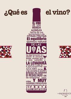 La Experiencia del Vino | Infografías #Vinos #Infografía