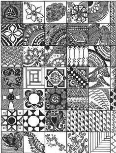 11.18.08 This is this second Sampler I have made.  I have many more ideas I should gather but this one took 12 hours so this is it for now!     Anyway, if you make a sampler of patterns I would be so grateful to be able to use your ideas as well.  Have a great day!