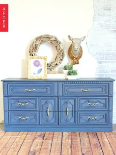 Before & After: Garage Sale Dresser Makeover | Apartment Therapy