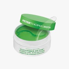 Peter Thomas Roth Cucumber De-Tox Hydra-Gel Eye Patches, $48 for 60 Buy it now