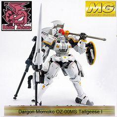 Dragon MoMoko MG 1/100 OZ-00MS Tallgeese 1 2 3 EW Gundam PVC Assembled Hobby Action Figures Plastic Kids Toys With Original Box