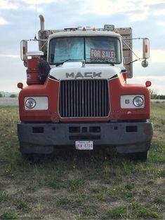 Waste Calgary is running from Okotoks and surrounding Calgary. Old Mack Trucks, Big Rig Trucks, Mack Attack, Cab Over, Show Trucks, Commercial Vehicle, Vintage Trucks, Peterbilt, Classic Trucks