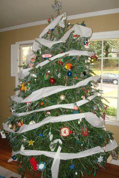 ...TP the Christmas tree!