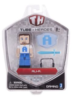 Tube Heroes Ali-A Action Figure with Accessories NIP #TubeHeroes