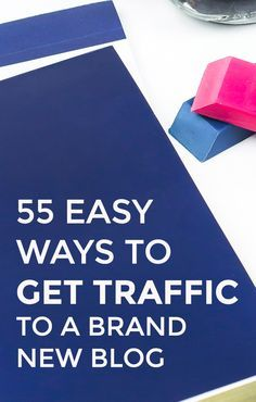 This is a fabulous list of easy ways to get traffic to a brand new blog! Pinning this for later!