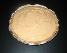Low Cal/Fat Peanut Butter Pie from Food.com: This pie is so delicious - that it's hard to believe it's low cal - and even low fat compared with most peanut butter pies. I received the recipe from a friend, but made a few changes to it. A yummy variation would be to fold a sliced banana into the pie filling mixture and add a few slices to the top or add some crushed Oreo cooking on top.