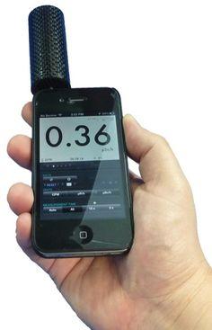 iRad Alpha for iOS - detects Alpha, Beta, Gamma radiation plus X-Rays