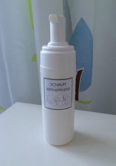 Mach was draus! DIY Schäumender Seifenspender. Ein neuer Trend in der Gesichtspflege ist, das Reinigungsprodukt...