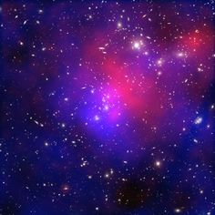 A complex collision of at least four galaxy clusters is captured in this new image. beauty in space. endless wonder.