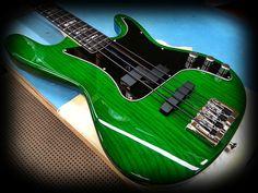 4 string Carvin bass guitar