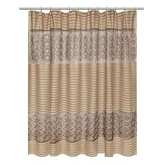Purple And Gold Shower Curtains