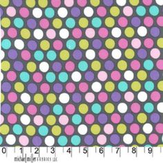 Michael Miller House Designer - Dots - Diddly Dot in Orchid