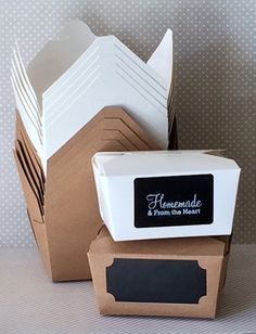 20 White or Kraft colored Boxes  Favor Box  by isakayboutique, $8.00