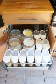 Chris Upgrades His Kitchen Cabinets With IKEA Drawer Pull Outs U2014 Kitchen  Improvement Project