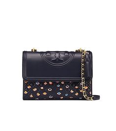 8bab03c3e48 TORY BURCH Fleming Printed Convertible Shoulder Bag.  toryburch  bags   shoulder bags  leather