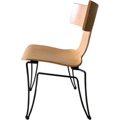 Anziano Chair by John Hutton for Donghia. If I made chairs, this is what I would build.