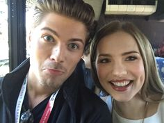 AmadeusSerafini and Willa Fitzgerald #MTVScream