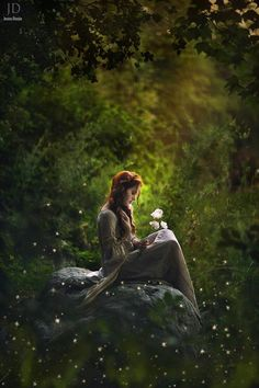 """Forest maiden, medieval, fantasy """"The world is full of magic things, patiently waiting for our senses to grow sharper. Yeats Enchanted Woods by Jessica Drossin on Foto Fantasy, Fantasy Magic, Fantasy World, Fantasy Art, Dark Fantasy, Dream Fantasy, Enchanted Wood, Poses Photo, Images Esthétiques"""