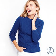 The Drifter you know and love - now in more colors for Fall. | Lands' End Women's Drifter Sweater