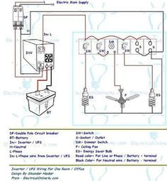 rcd wiring installation in single phase distribution board rh pinterest com Home Wiring Basics with Illustrations Basic Electrical Wiring Diagrams