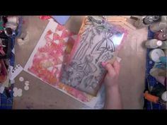 #IlluminatedJournaling: Paper Piecing  - YouTube A wonderful tutorial  on using stamps  and  die cut paper in your journaling Bible