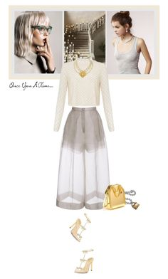 """""""Once upon a time..."""" by matilda66 ❤ liked on Polyvore featuring Kershaw, Delpozo, Chanel, Needle & Thread, René Caovilla and STELLA McCARTNEY"""