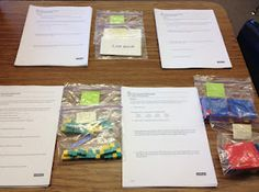 Learning stations for middle school math