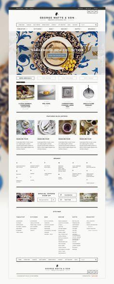 Web Design Works of Owen Perry | Web Design Inspiration