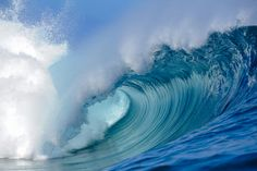 """The perfect wave Teahupoo, tahitian island"" by Brest Report Stéphane, via 500px."