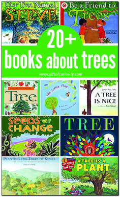 about trees books about trees for kids Science Activities For Kids, Preschool Books, Spring Activities, Learning Activities, Montessori Books, Botany Books, Trees For Kids, Spring Books, Creative Curriculum