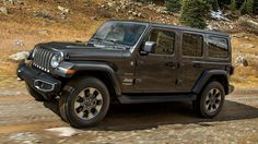 """At the official unveiling of the 2018 Jeep Wrangler today Jeep CEO Michael Manley confirmed that the 2020 model, presumably in the """"JL"""" bodystyle, would be available as a hybrid electric vehicle. Jeep Sahara, Jeep Wrangler Sahara, Jeep Suv, Jeep Truck, My Dream Car, Dream Cars, Tesla Model X, Chrysler Pacifica, Jeep Accessories"""