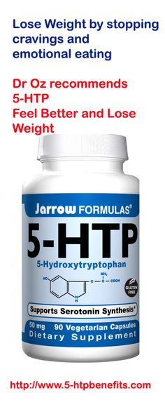 Dr. Oz was really definitive about 5-HTP helping stop emotional eating, cravings and really helping you lose weight.  Boy does it sound good  http://www.5-htpbenefits.com