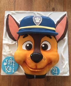 Chase, Paw-patrol cake by Olivia's Cake Boutique