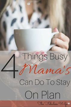 Are you struggling to stay on plan? The following tips can help even the busiest Mama have success with THM!