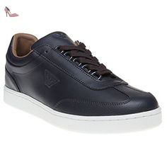 Armani Jeans Wings Sneaker Homme Chaussures Bleu - Chaussures emporio armani (*Partner-Link)