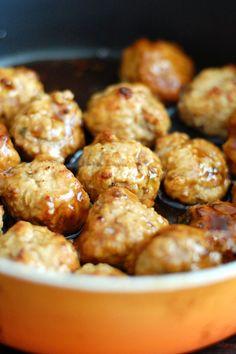Moore's Pineapple Chicken Teriyaki Meatballs