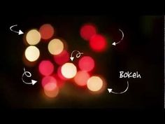 ▶ Photo : comment faire un bokeh en 5 minutes ! - YouTube
