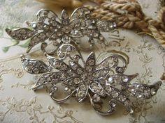 Victorian glamours wedding Swarovski rhinestone by weddingvalle, $29.99