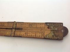 1920s antique small carpenters folding pocket ruler  measuring leveling tool by Hannahandhersisters on Etsy