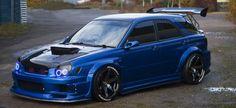 Subaru WRX STi Wagon Bugeye
