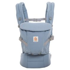 da6adcc9aa7 Buy the Ergobaby Original Adapt Baby Carrier in Azure Blue. It grows with  your baby and doesn t require any need of an infant insert.