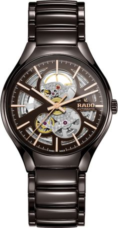 2503f0c2c The Rado True watch comes with an open-heart design that comes in a mind