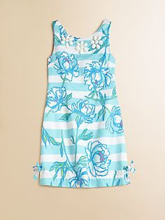 Lilly Pulitzer Kids Girl's Little Delia Shift Dress