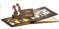 #svadba #oznámenie #wedding #laser #cut #invitation #handmade #inspiration #creative #wed #gold #brown