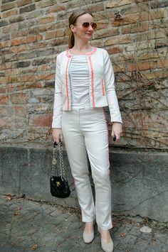 Neon Suit  | Oceanblue Style ~ the 40+ fashion blog where European Elegance meets So Cal Ease.