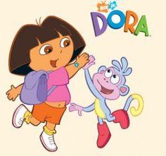 Dora kinderfeestje thuis