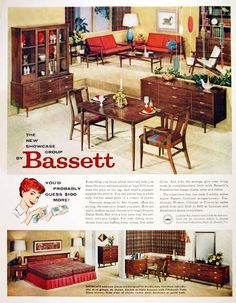 Bassett Furniture, 1959