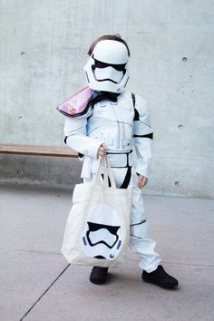 First Order Stormtrooper Tote Bag