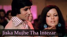 Jiska Mujhe Tha Intazaar - Amitabh Bachchan - Zeenat Aman - Don - Top Bo. Love Songs Hindi, Hindi Movie Song, Soulmate Songs, Kishore Kumar Songs, Lata Mangeshkar Songs, Indian Movie Songs, Evergreen Songs, Bollywood Movie Songs, Hindi Movies Online